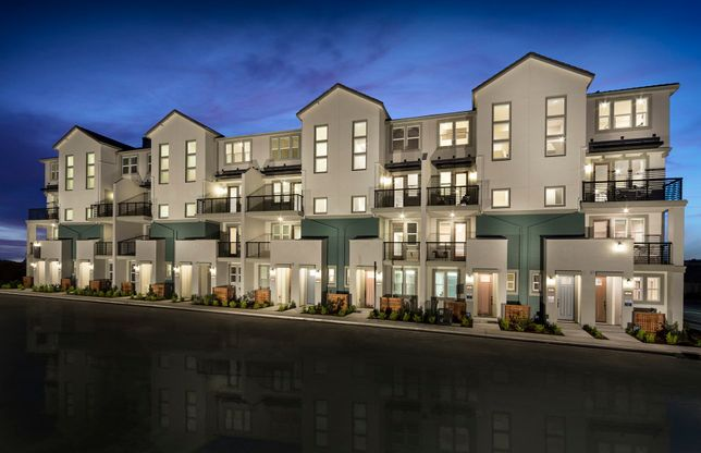 Rows At Metro In Milpitas, CA, New Homes & Floor Plans By