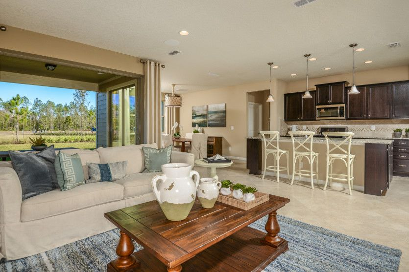 Greatroom-and-Dining-in-Summerwood-at-Creekside at Twin Creeks-in-Saint Augustine