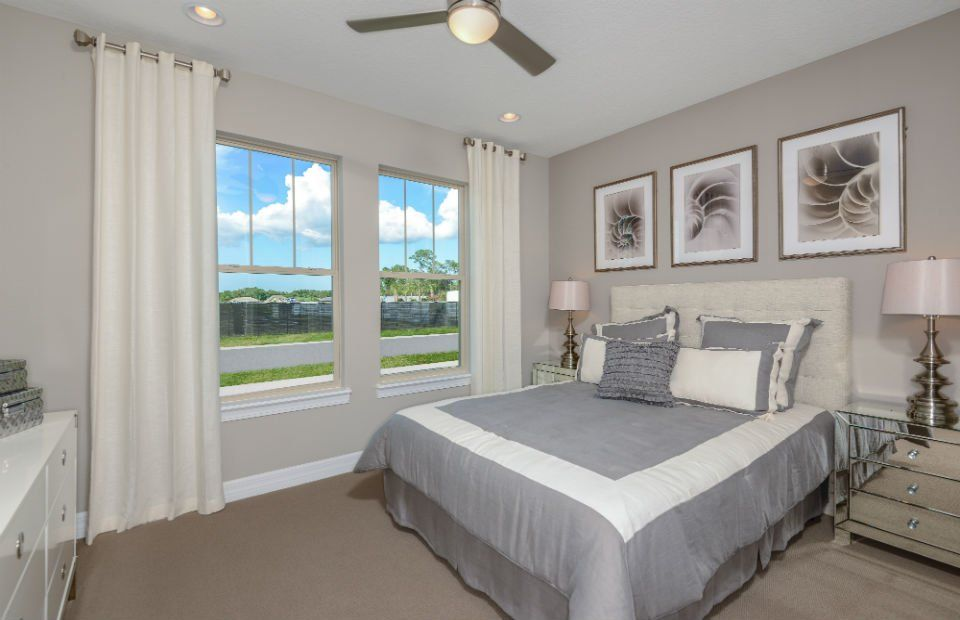 Bedroom featured in the Dockside By Pulte Homes in Orlando, FL