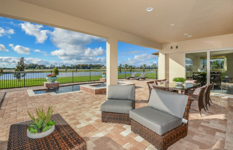 Exterior featured in the Gardenside By Pulte Homes in Orlando, FL