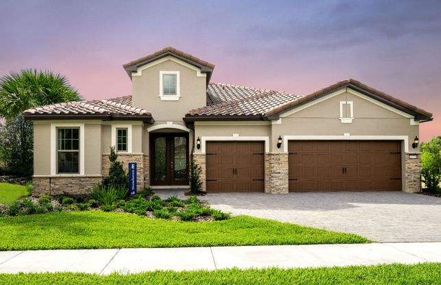 Stonehaven:Stonehaven Model Exterior for Sale at Enclave