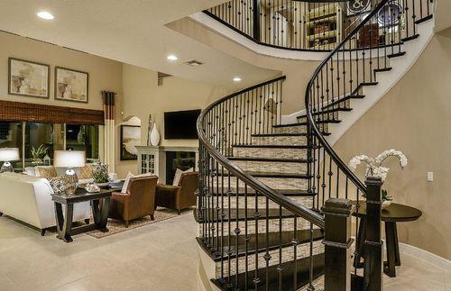 Stairway-in-Portside-at-Enclave at VillageWalk-in-Orlando