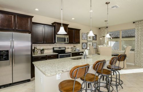 Kitchen-in-Hillsdale - Interior Unit-at-Lakeshore at Narcoossee-in-Saint Cloud