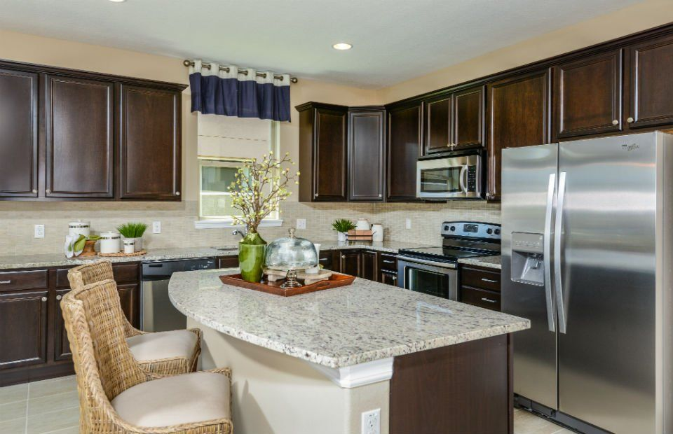 Kitchen-in-Oasis-at-Lakeshore at Narcoossee-in-Saint Cloud