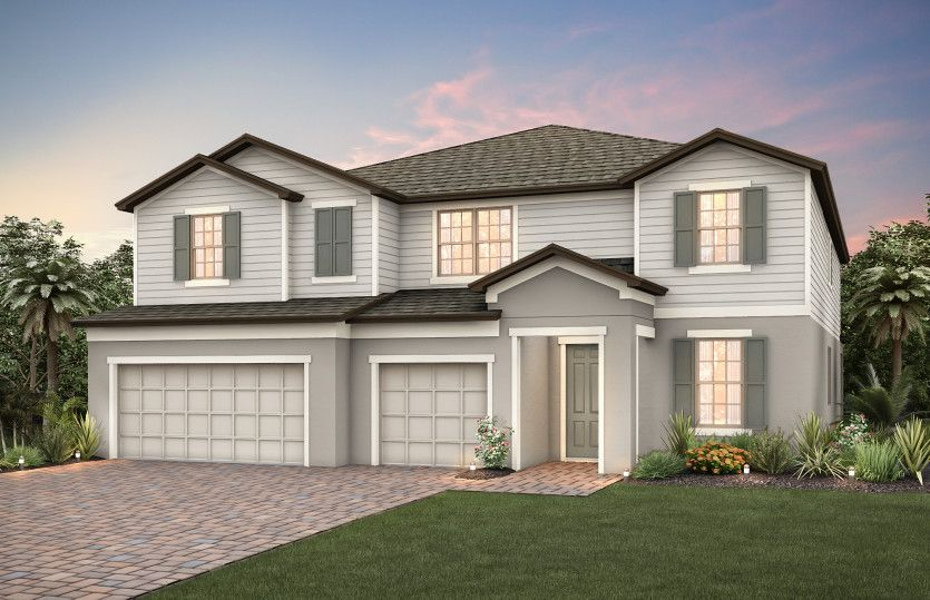 Exterior featured in the Casabella By Pulte Homes in Orlando, FL