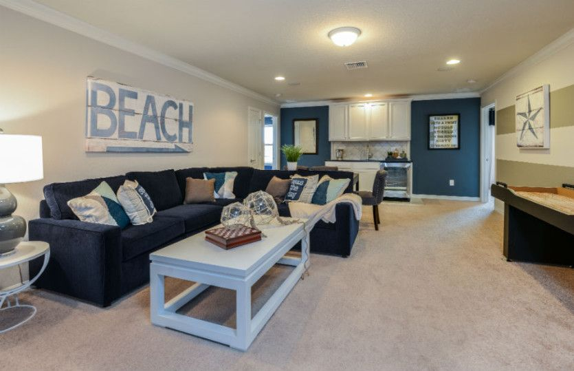 Living Area featured in the Seashore By Pulte Homes in Orlando, FL