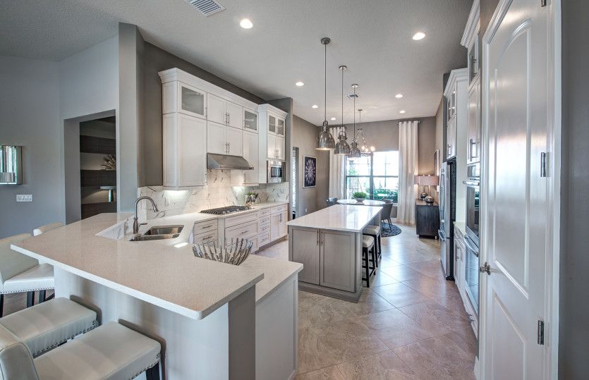 Kitchen featured in the Tangerly Oak By Pulte Homes in Fort Myers, FL