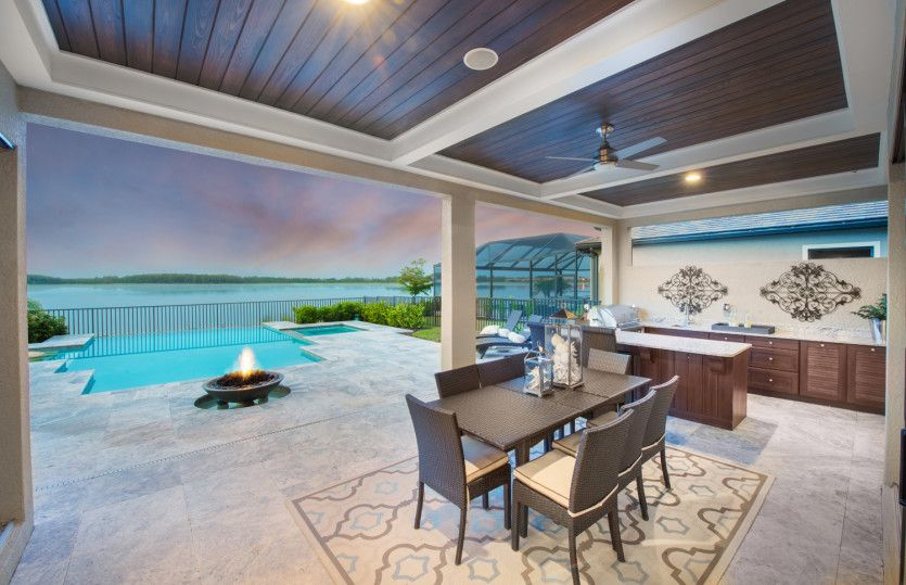 Exterior featured in the Clubview By Pulte Homes in Fort Myers, FL