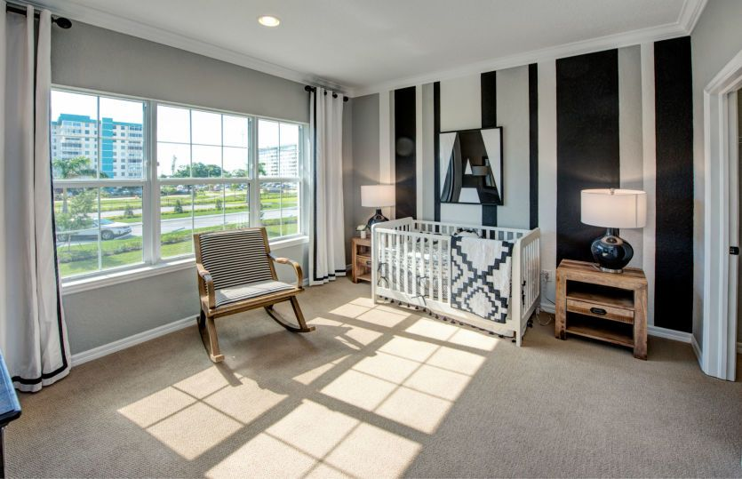 Bedroom featured in the Raritan By Pulte Homes in Broward County-Ft. Lauderdale, FL