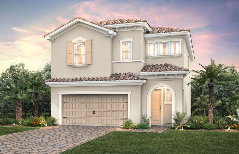 Exterior featured in the Alexander By Pulte Homes in Broward County-Ft. Lauderdale, FL