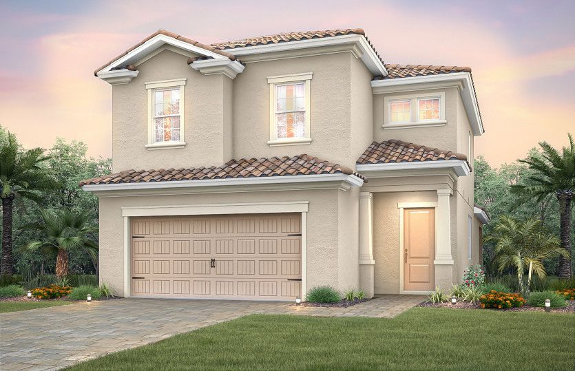 Exterior featured in the Nelson By Pulte Homes in Broward County-Ft. Lauderdale, FL