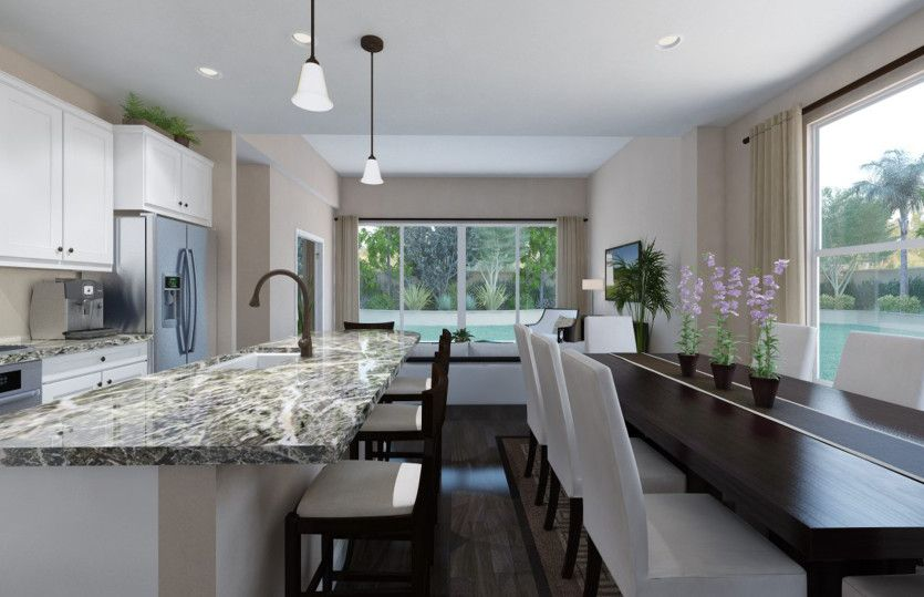 Kitchen featured in the Nelson By Pulte Homes in Broward County-Ft. Lauderdale, FL