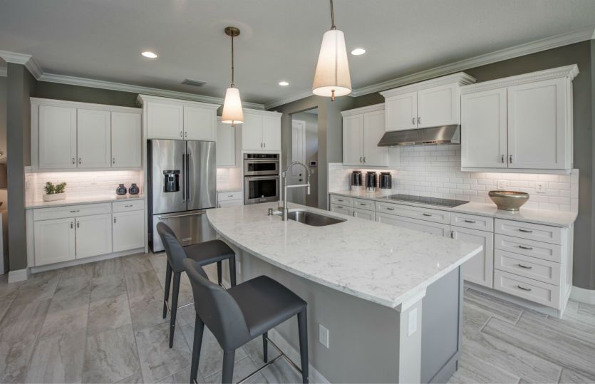 Kitchen featured in the Riverwalk By Pulte Homes in Broward County-Ft. Lauderdale, FL