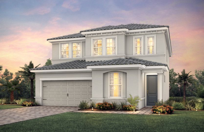 Exterior featured in the Park Place By Pulte Homes in Broward County-Ft. Lauderdale, FL