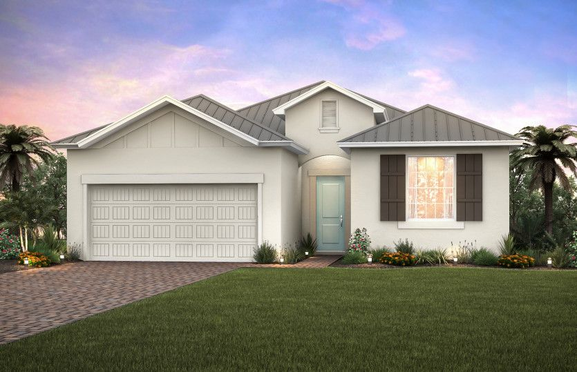 Exterior featured in the Summerwood By Pulte Homes in Punta Gorda, FL