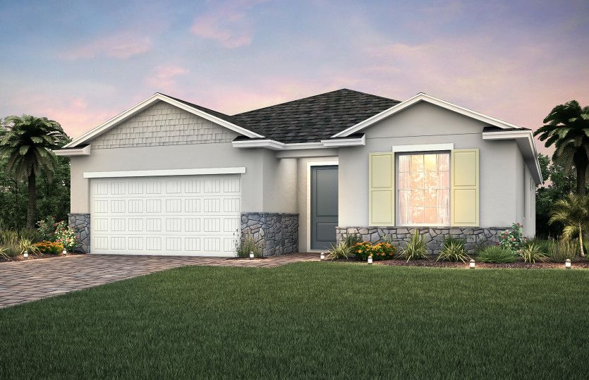Exterior featured in the Oasis By Pulte Homes in Punta Gorda, FL
