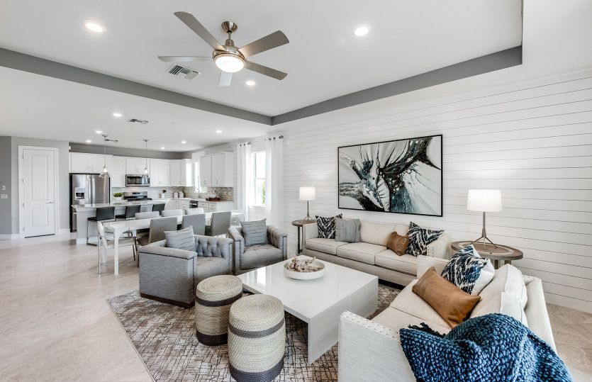 Living Area featured in the Oasis By Pulte Homes in Fort Myers, FL