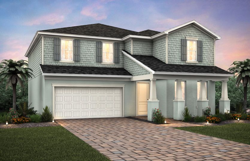 Exterior featured in the Sandhill By Pulte Homes in Punta Gorda, FL