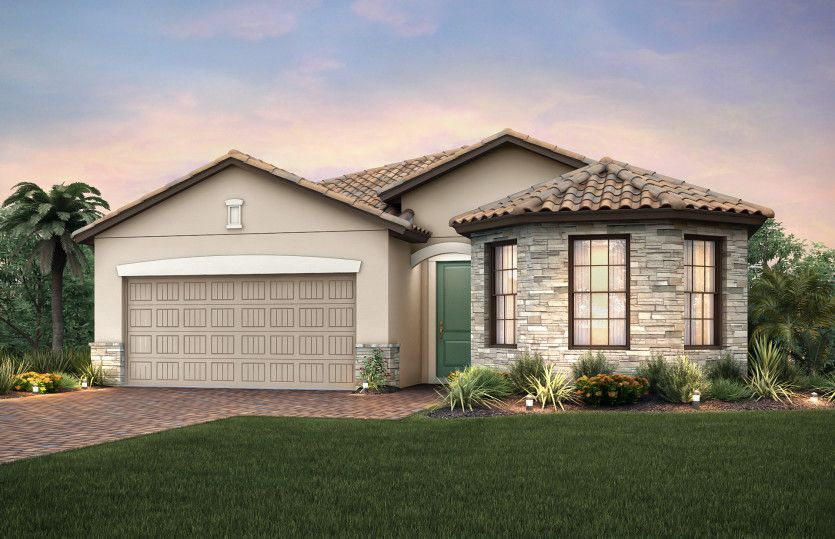Exterior featured in the Marina By Pulte Homes in Fort Myers, FL