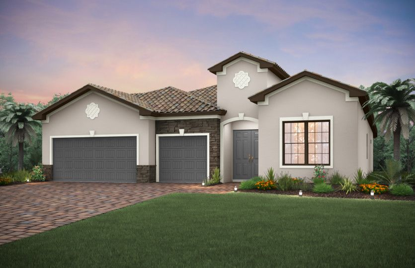 Exterior featured in the Stonewater By Pulte Homes in Fort Myers, FL