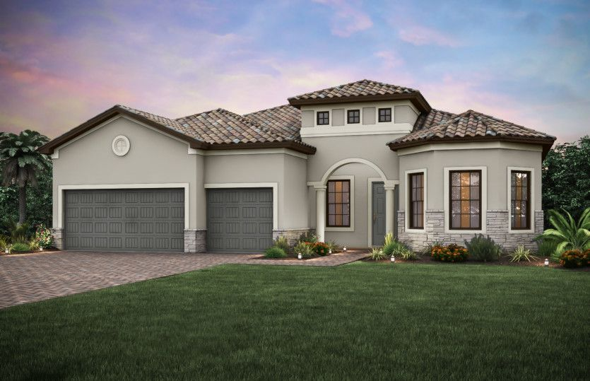 Exterior featured in the Pinnacle By Pulte Homes in Fort Myers, FL