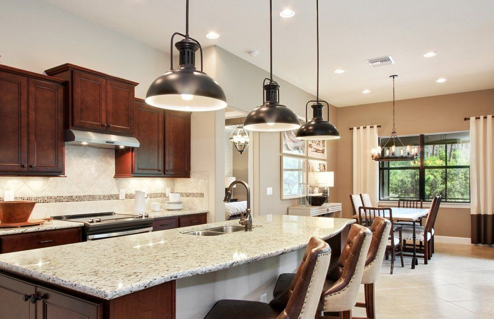 Kitchen-in-Summerwood-at-The Plantation-in-Fort Myers