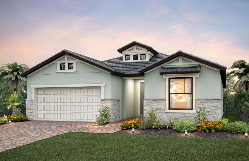 Exterior featured in the Summerwood By Pulte Homes in Fort Myers, FL
