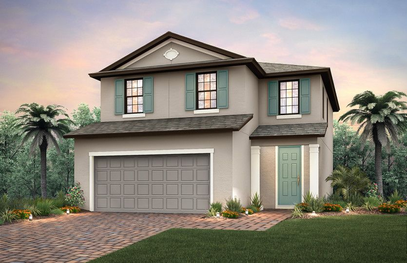 Exterior featured in the Starboard By Pulte Homes in Naples, FL