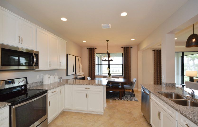 Kitchen featured in the Starboard By Pulte Homes in Naples, FL
