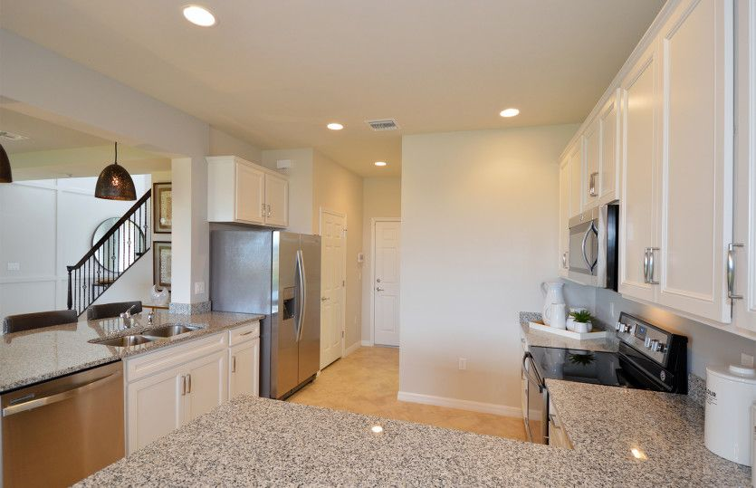 Kitchen-in-Starboard-at-Avalon Park at Ave Maria-in-Ave Maria