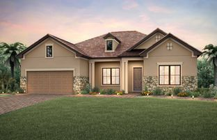 Tangerly Oak - Greyhawk at Golf Club of the Everglades: Naples, Florida - Pulte Homes