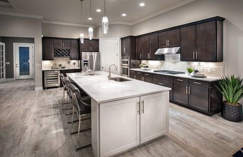 Kitchen-in-Pinnacle-at-Greyhawk at Golf Club of the Everglades-in-Naples