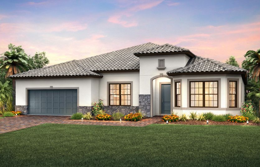 Exterior featured in the Camelot By Pulte Homes in Naples, FL