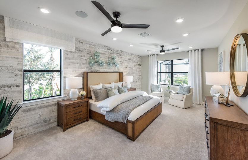 Bedroom featured in the Dockside By Pulte Homes in Punta Gorda, FL