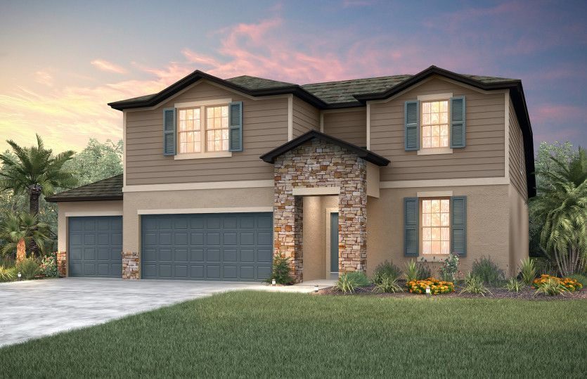 Exterior featured in the Citrus Grove By Pulte Homes in Tampa-St. Petersburg, FL