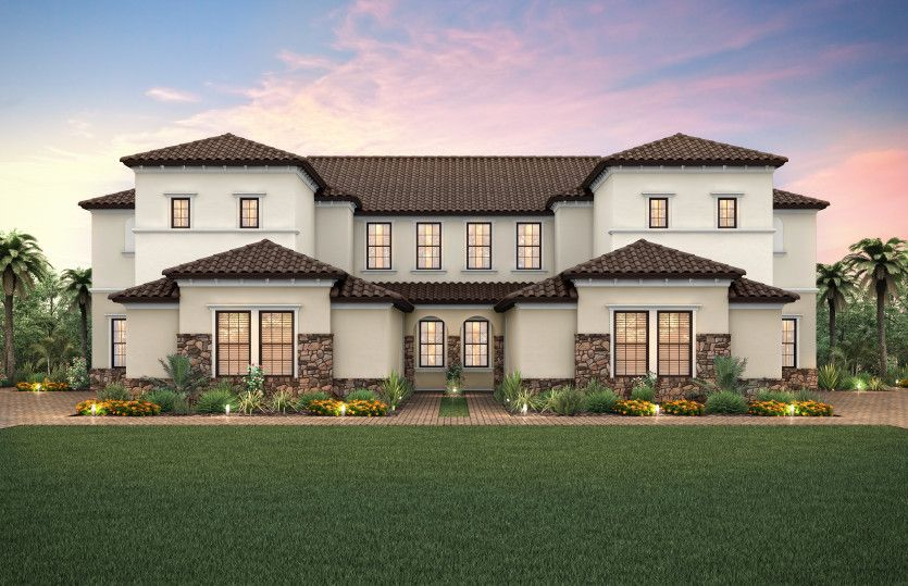 Exterior featured in the Westgate By Pulte Homes in Palm Beach County, FL