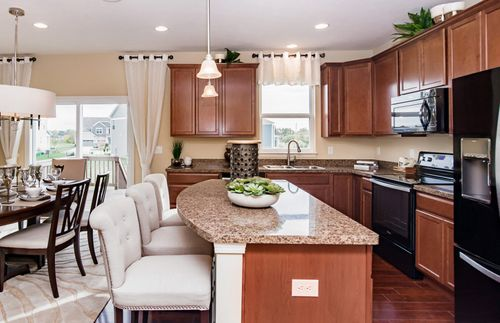Kitchen-in-Baldwin-at-Clark Meadows at Anson-in-Whitestown