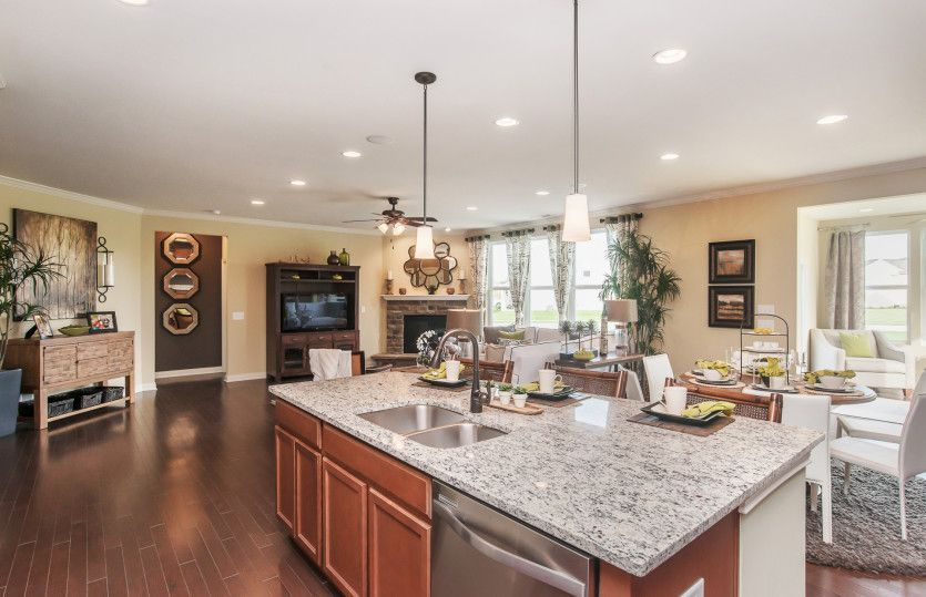 Kitchen featured in the Amberwood with Basement By Pulte Homes in Indianapolis, IN