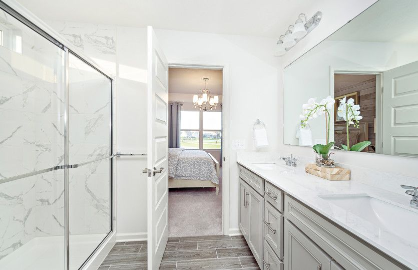 Bathroom featured in the Greenfield By Pulte Homes in Louisville, KY