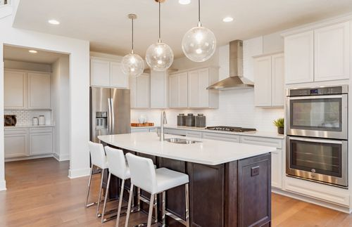 Kitchen-in-Woodside-at-Clark Meadows at Anson-in-Whitestown
