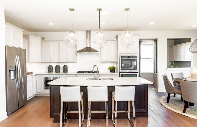 Kitchen featured in the Woodside with Basement By Pulte Homes in Indianapolis, IN