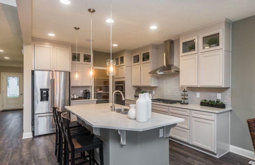 Kitchen-in-Allison-at-Hidden Pines-in-Zionsville