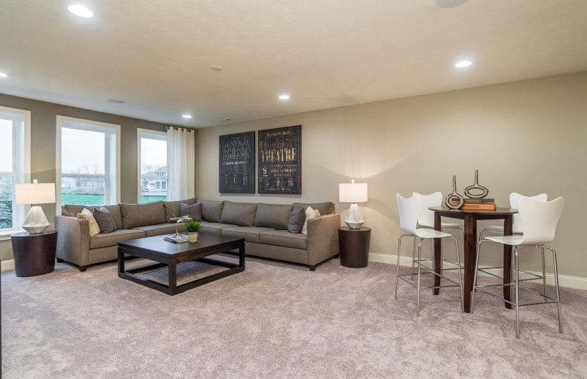 Living Area featured in the Allison with Basement By Pulte Homes in Indianapolis, IN