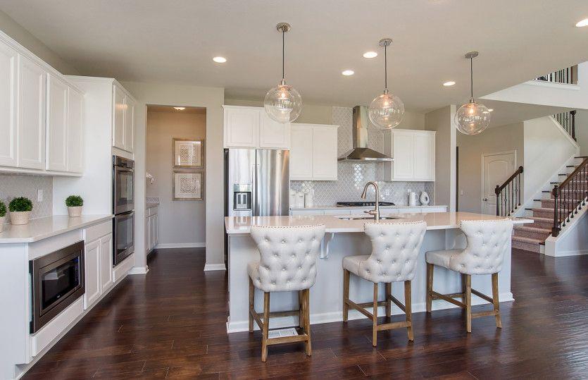 Kitchen-in-Castleton-at-Bear Creek-in-Carmel