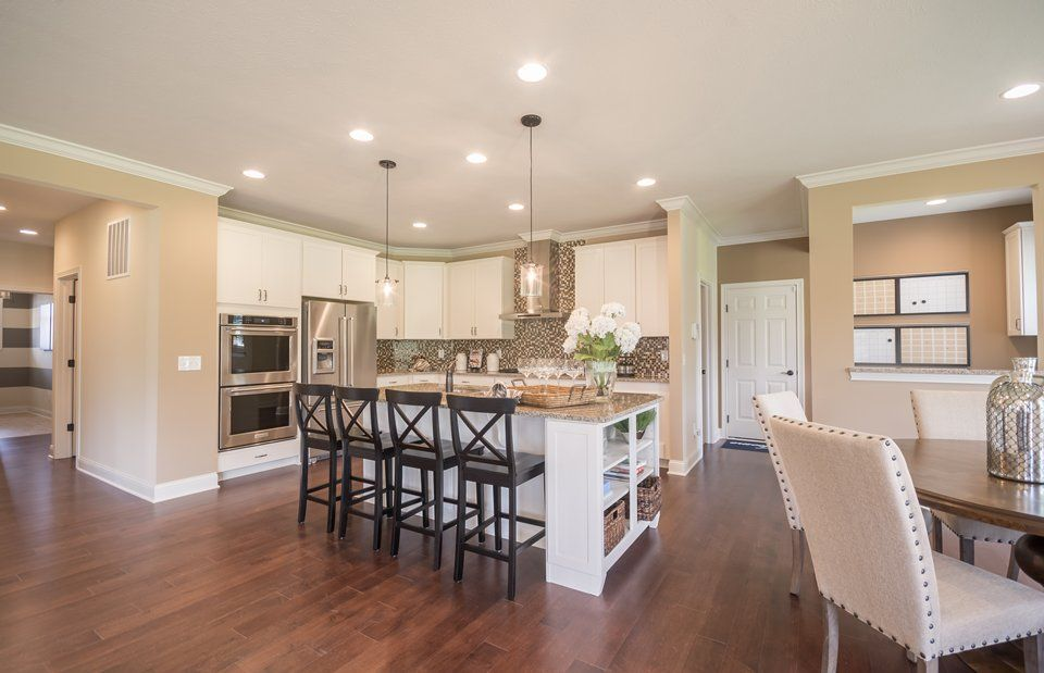 Kitchen featured in the Plan 4000 By Pulte Homes in Indianapolis, IN