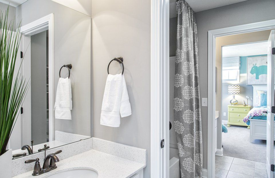 Bathroom featured in the Skyview By Pulte Homes in Akron, OH