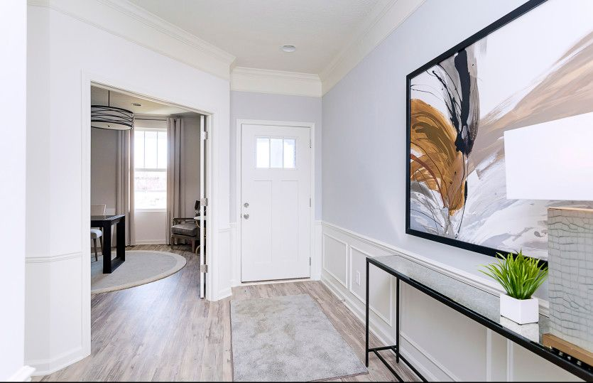 Living Area featured in the Fifth Avenue By Pulte Homes in Indianapolis, IN