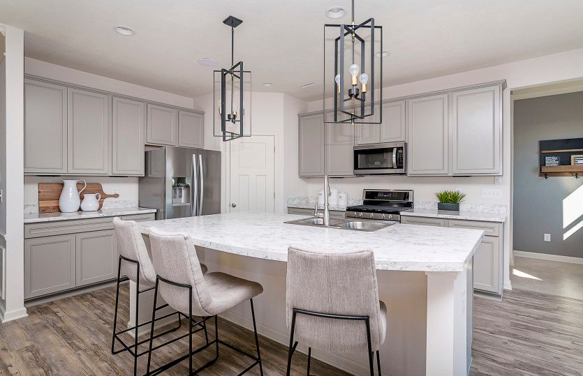 Kitchen featured in the Fifth Avenue By Pulte Homes in Indianapolis, IN