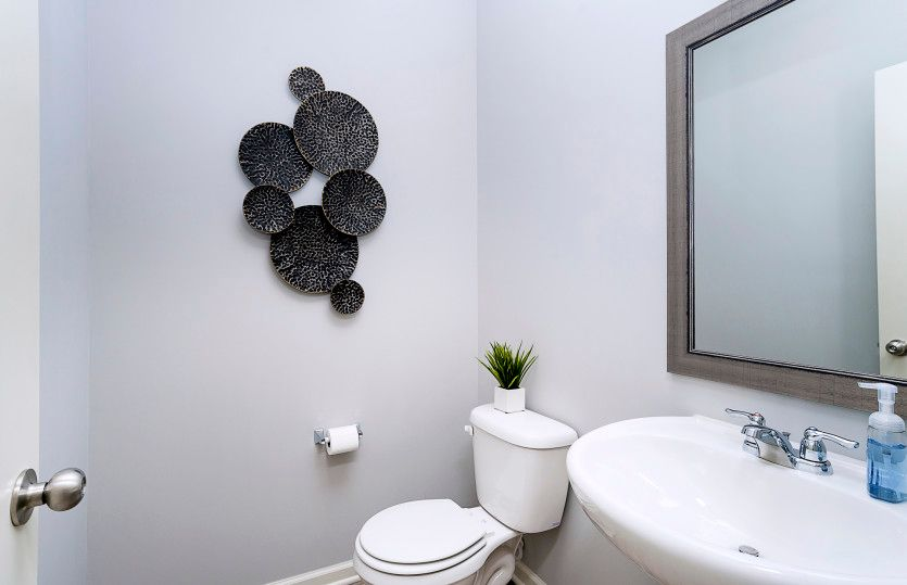 Bathroom featured in the Fifth Avenue By Pulte Homes in Indianapolis, IN
