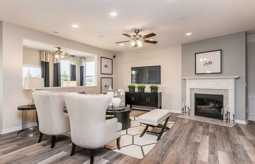 Living Area featured in the Boardwalk By Pulte Homes in Indianapolis, IN